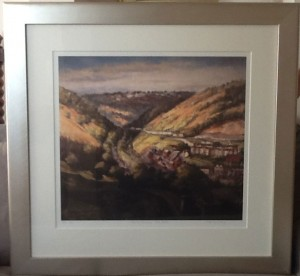 Valerie Ganz framed